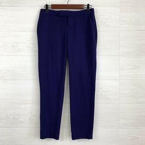 Banana Republic Ryan Fit Royal Blue Crop Trouser